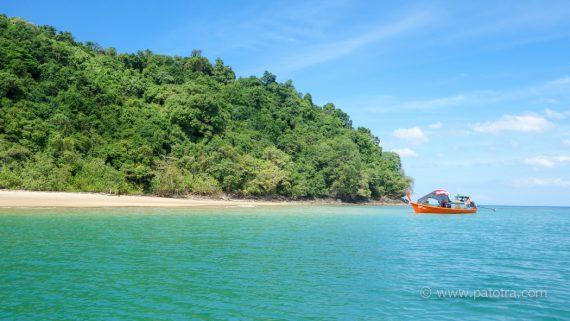 Thailand einsame Insel