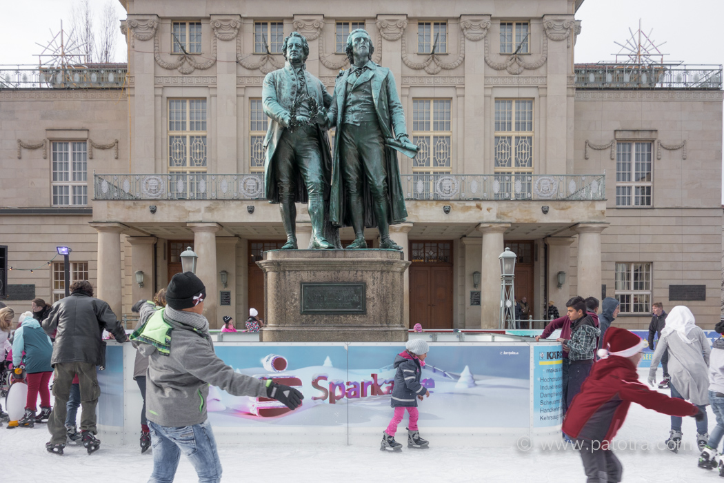 Weimar Schlittschuh