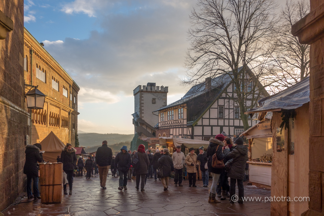historischer Weihnachtsmarkt Wartburg