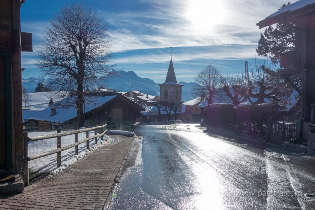 Dorf Leysin