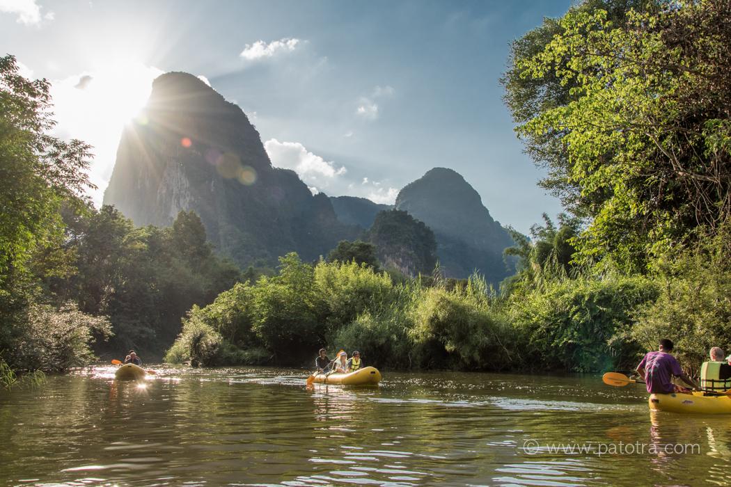 River Sok Canoe