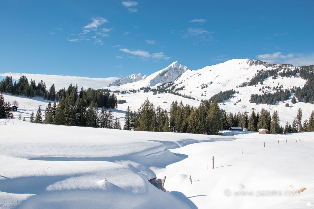 Les Mosses Schneeschuh
