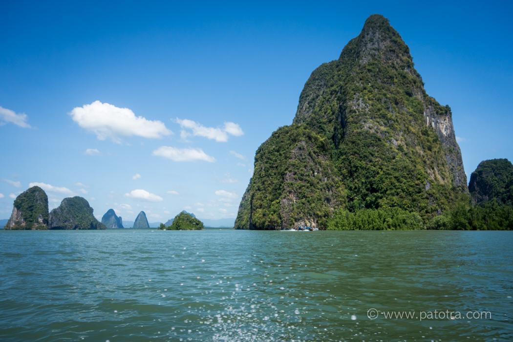 Felsenlandschaft Thailand