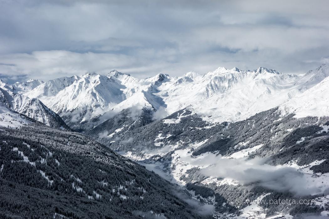 Blick Alpen See Tirol