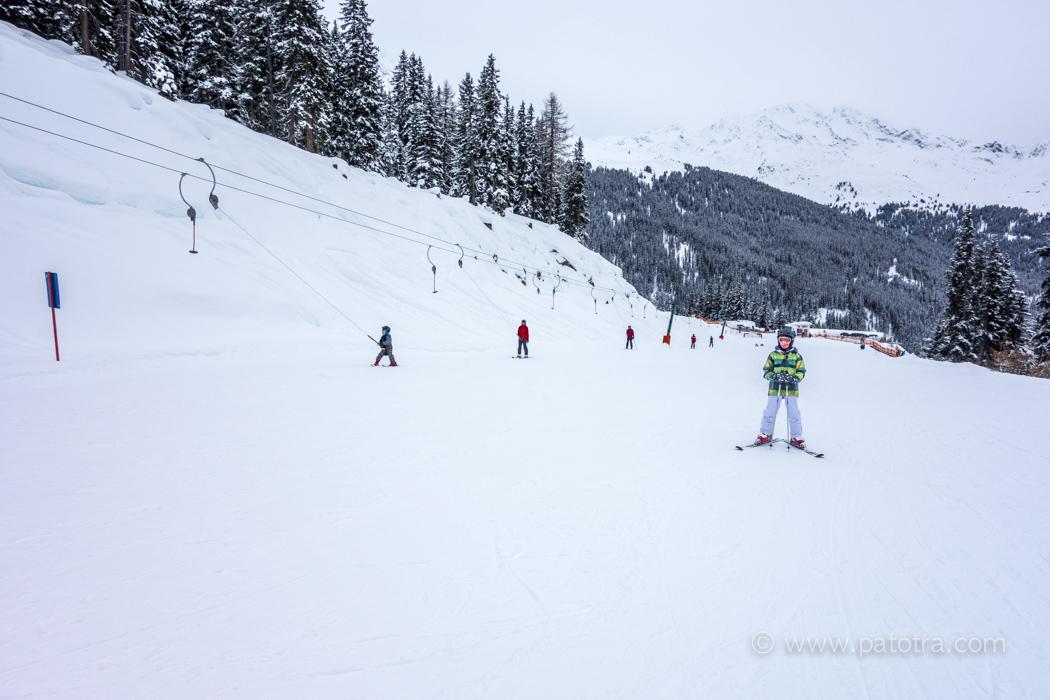Skifahren Skischule See