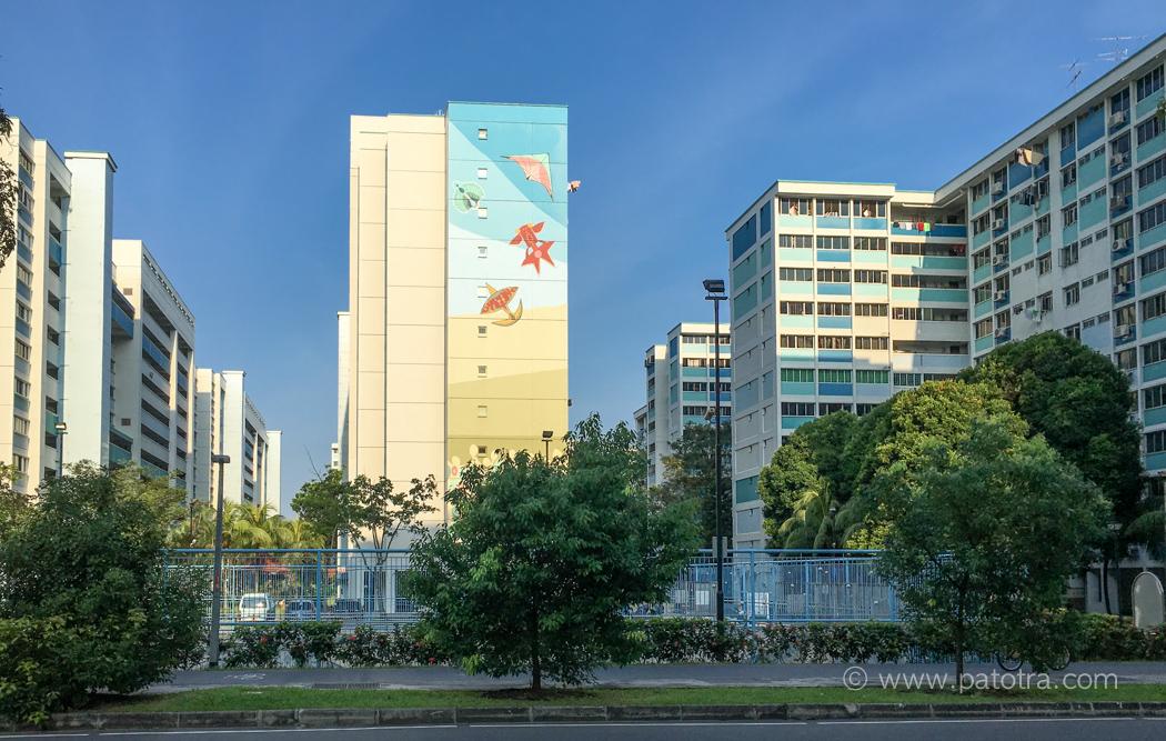 Singapur Wohnkomplex