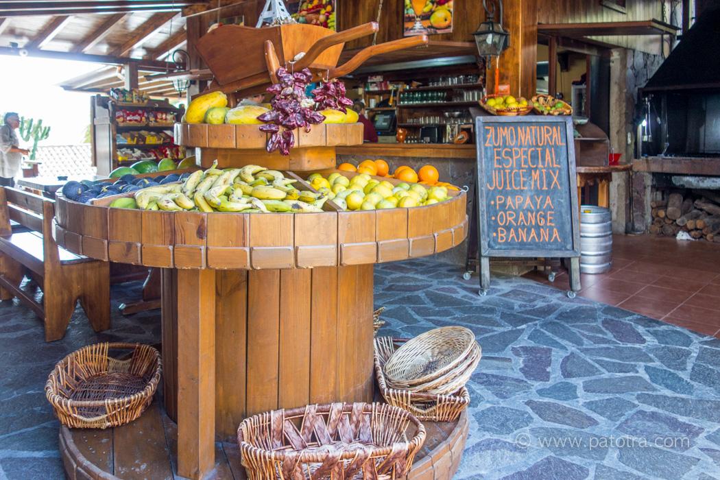 Obst Kanaren