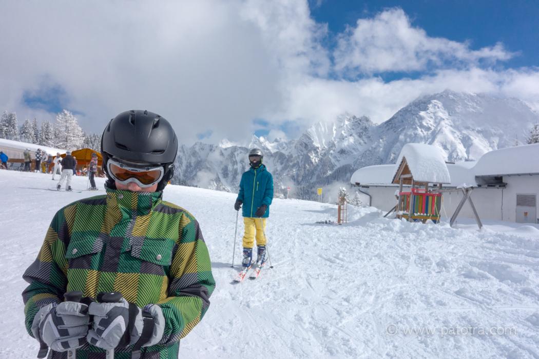 Skifahren Brand