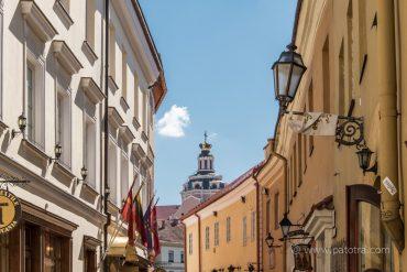 Strasse in Vilnius