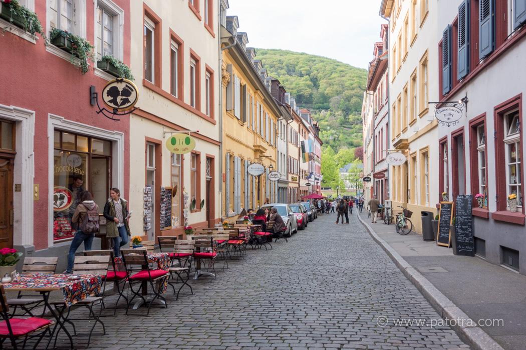 Gasse Heidelberg