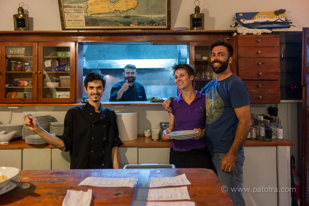 Milos Restaurant Navagio