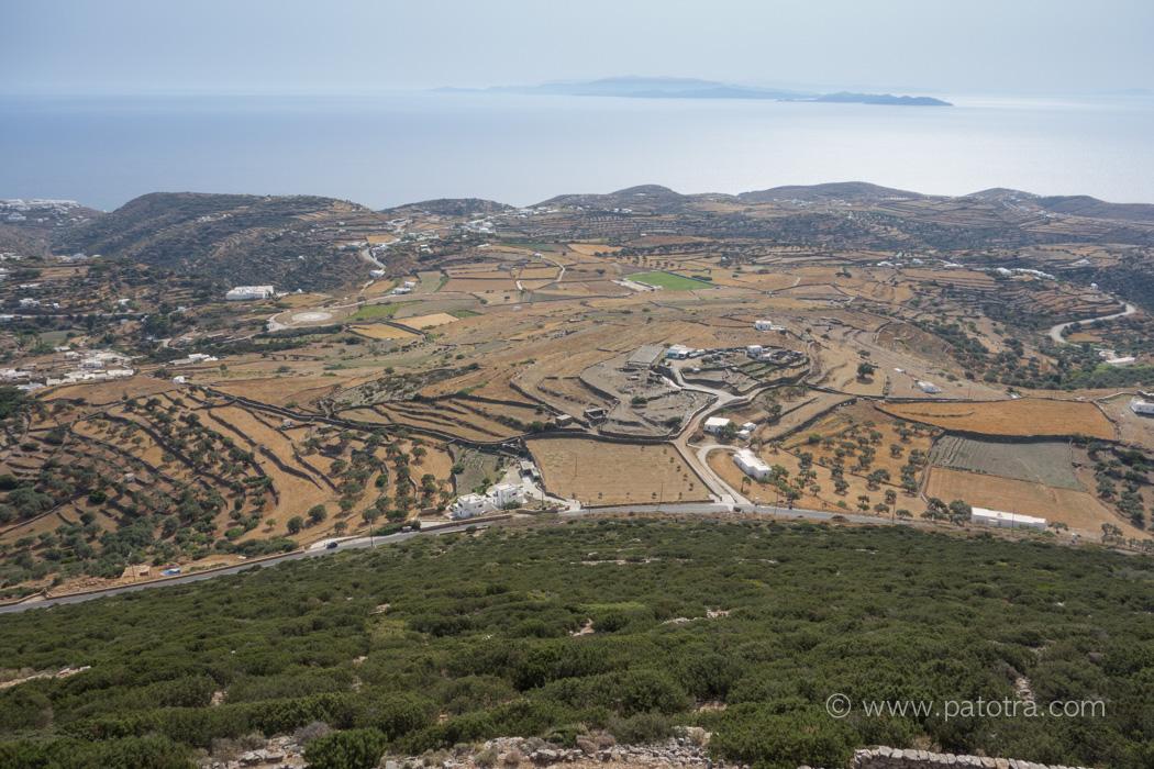 Blick Acropolis Sifnos