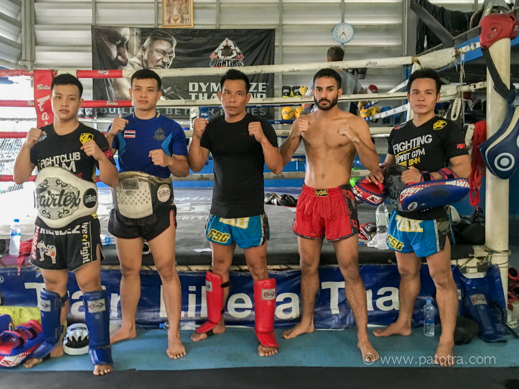 Thai Boxen Fightig Spirit