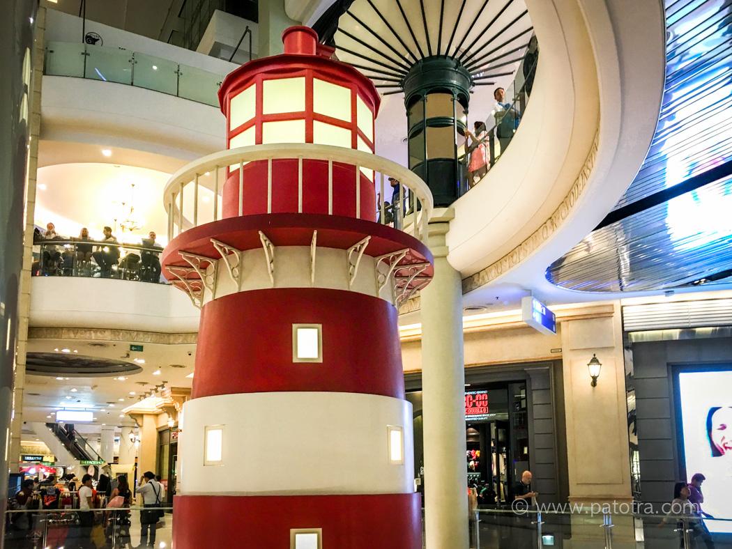 Leuchtturm Terminal 21 Bangkok