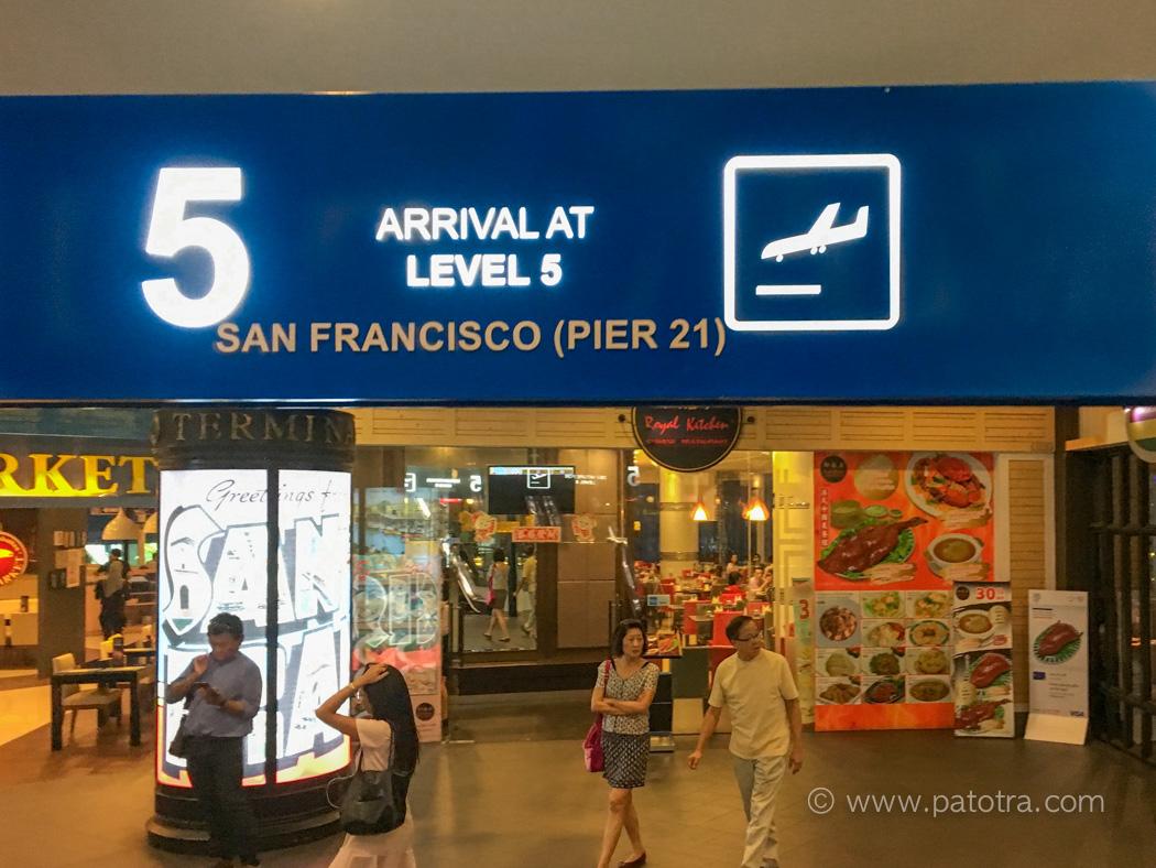 Ankunft Terminal 21