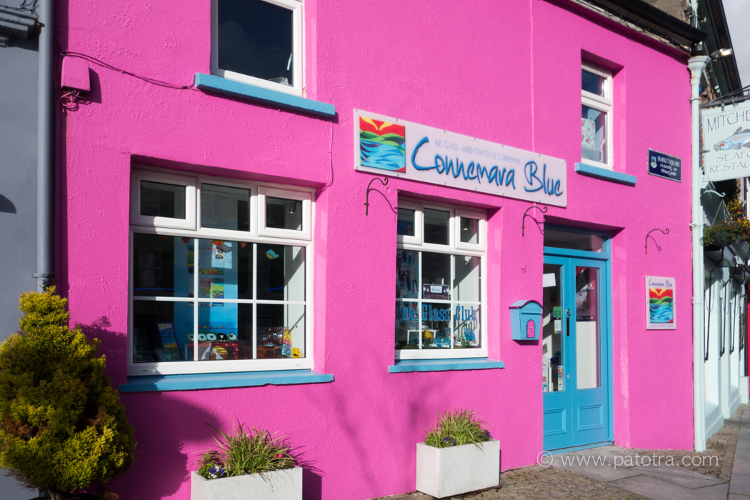 Buntes Haus Connemara Clifden