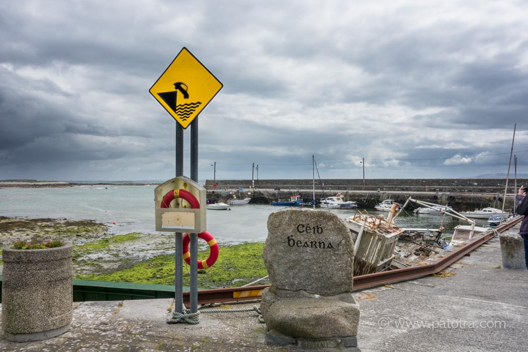 Hafenmole in Galway