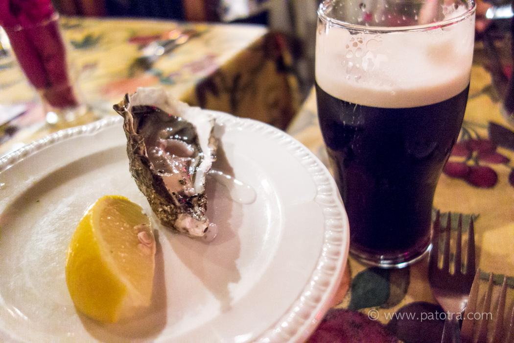 Guinness und Austern