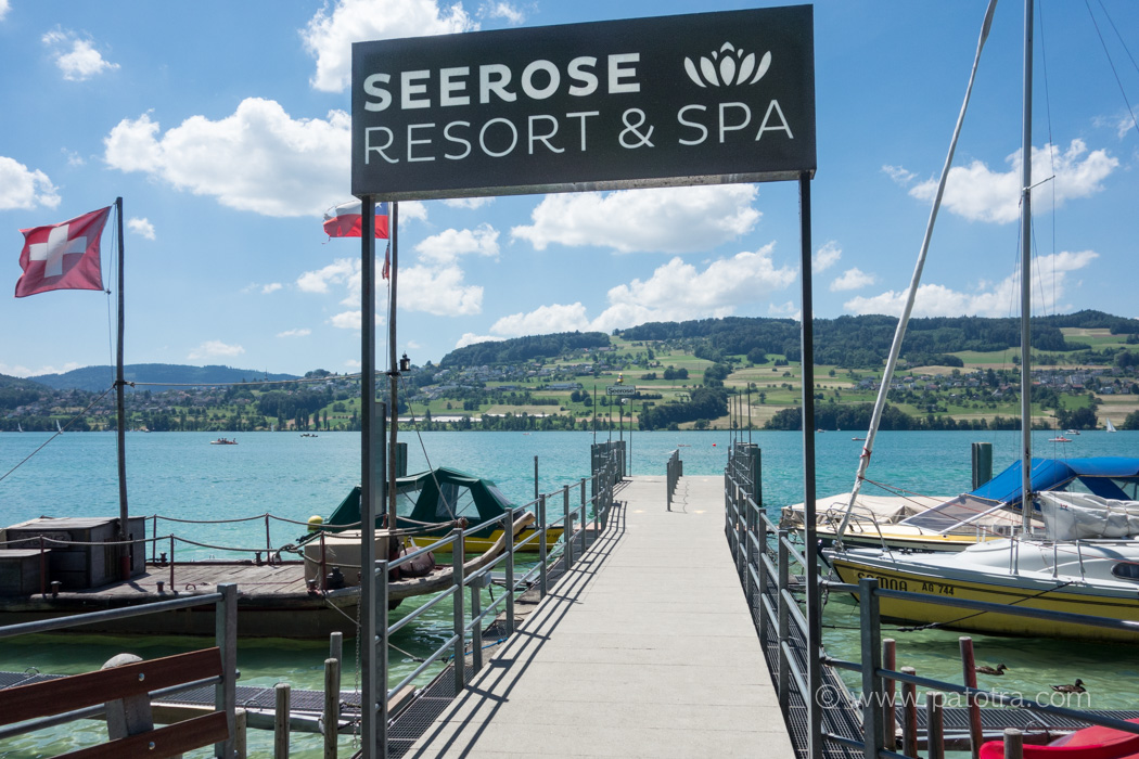 Bootssteg Seerose Resort und Spa