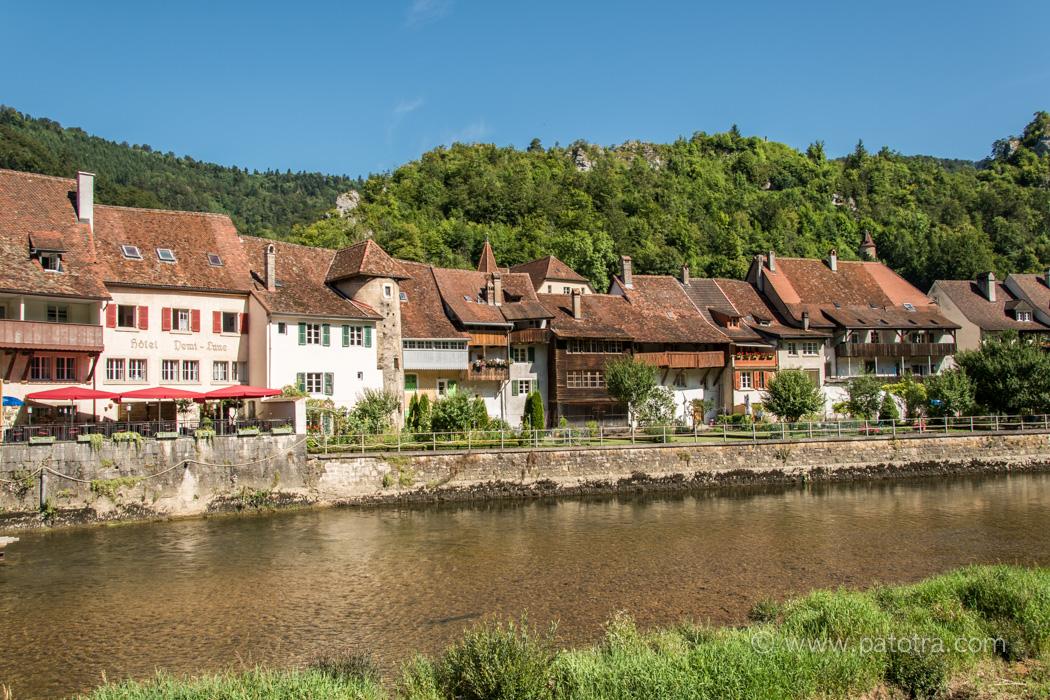 St Ursanne am Doubs