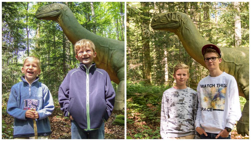 Tom und Luis bei den Dinos