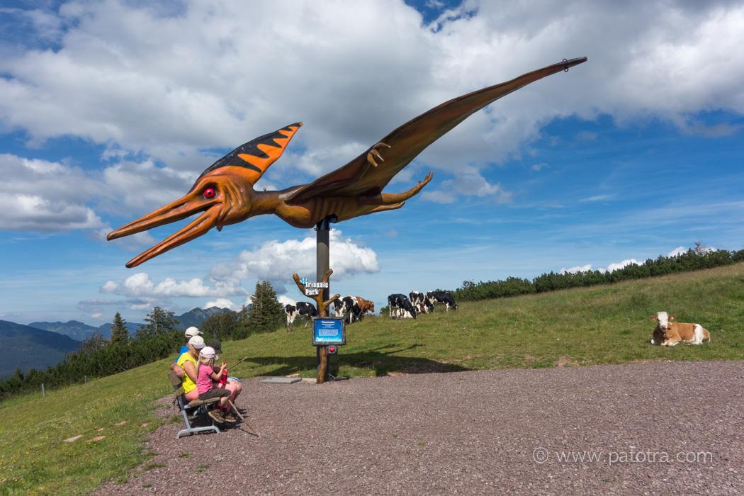 Flugsaurier Pillersee