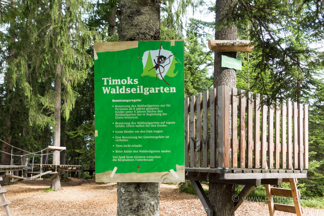 Waldseilgarten Fieberbrunn