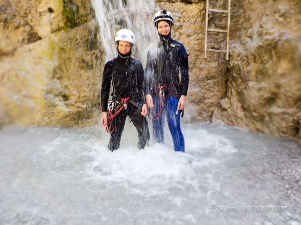 Canyoning Pillersee