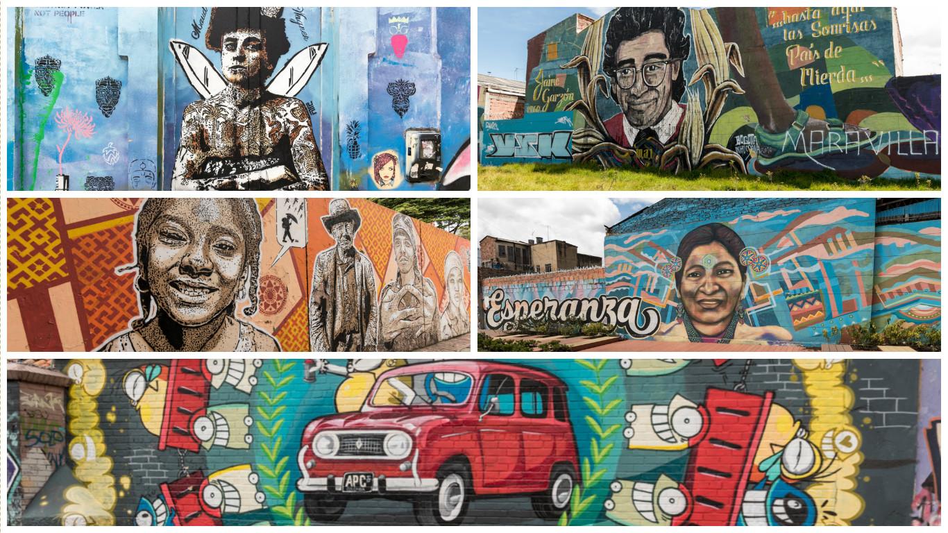 Streetart in bogota