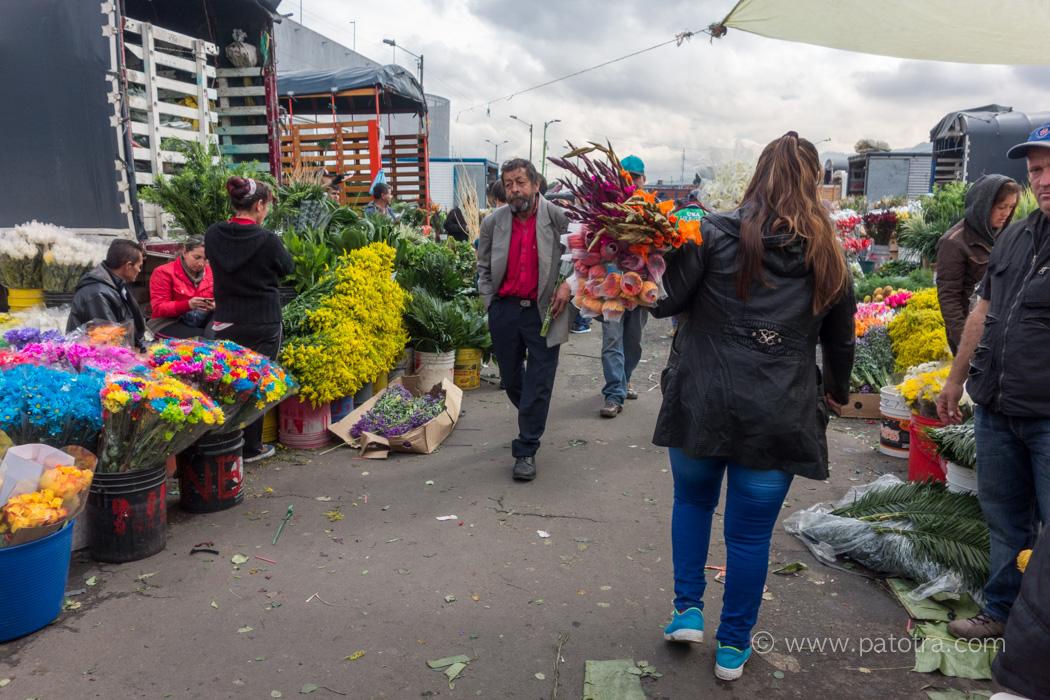 Blumenmarkt Bogota