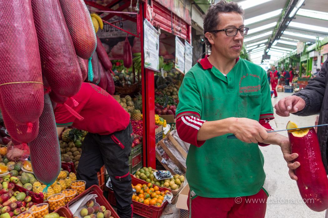 Markt Bogota
