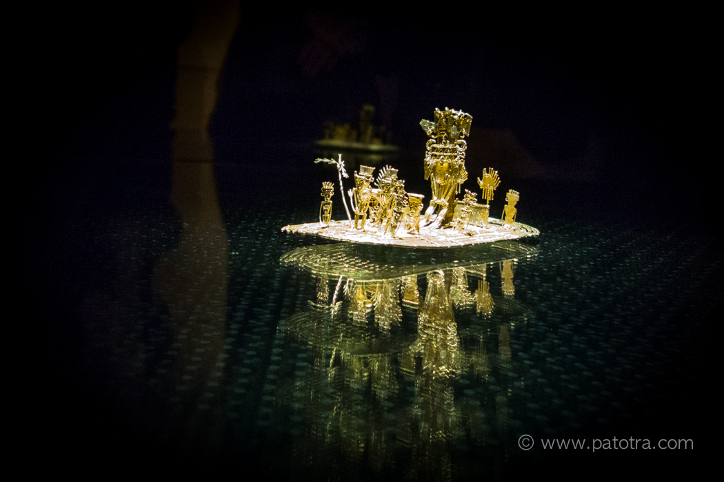 Goldkunst Bogota