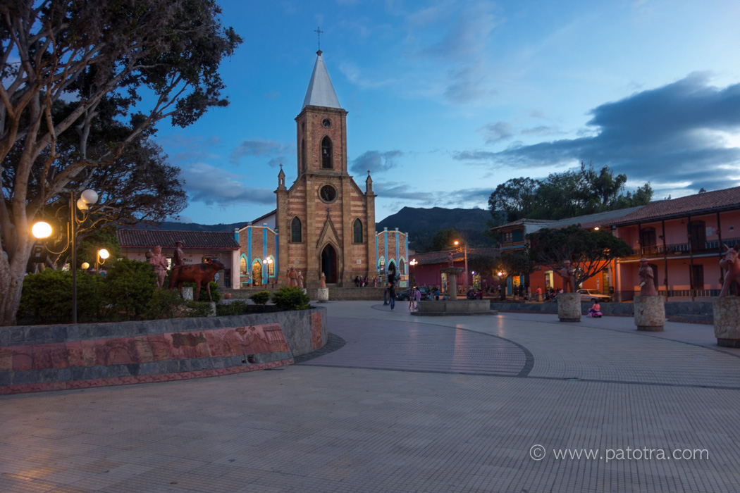 Plaza Major Raquira