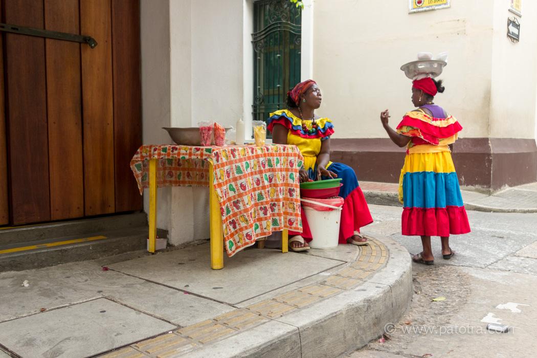 Strassenleben Cartagena