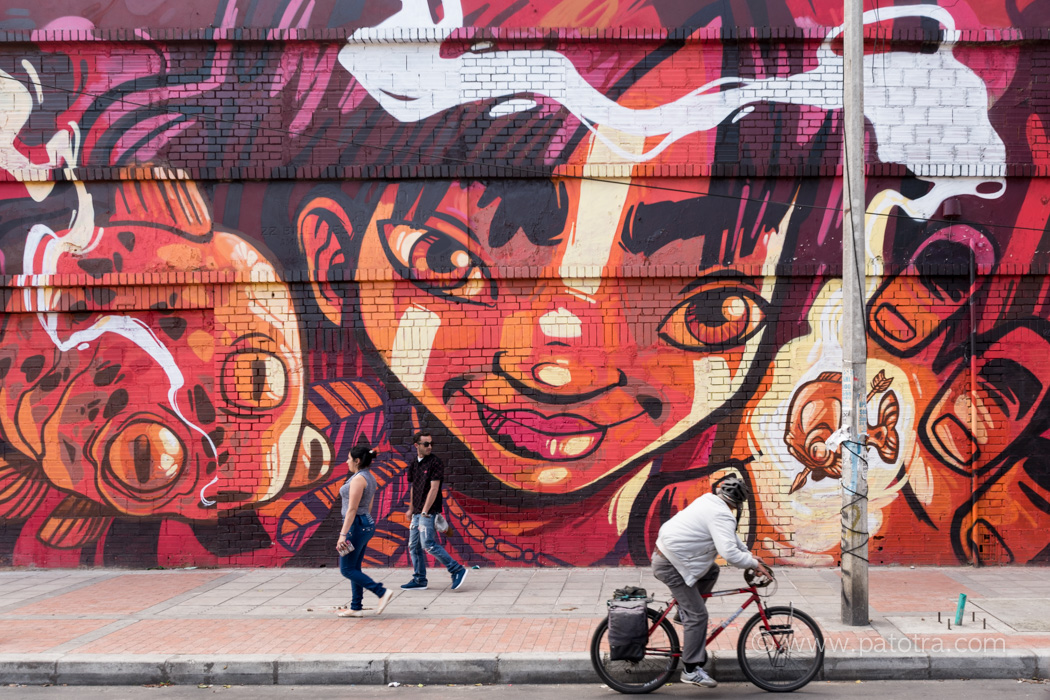 Streetart Bogota