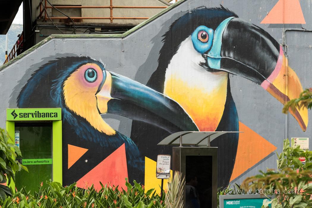 Streetart Pueblito Paisa Medellin