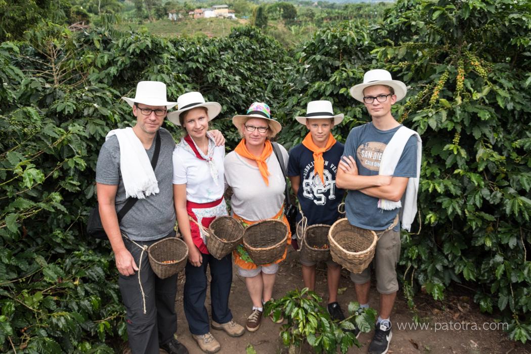 Kaffeepfluecker Kolumbien