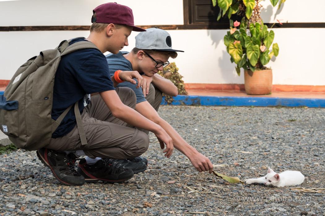 Ferien auf dem Bauernhof Kolumbien