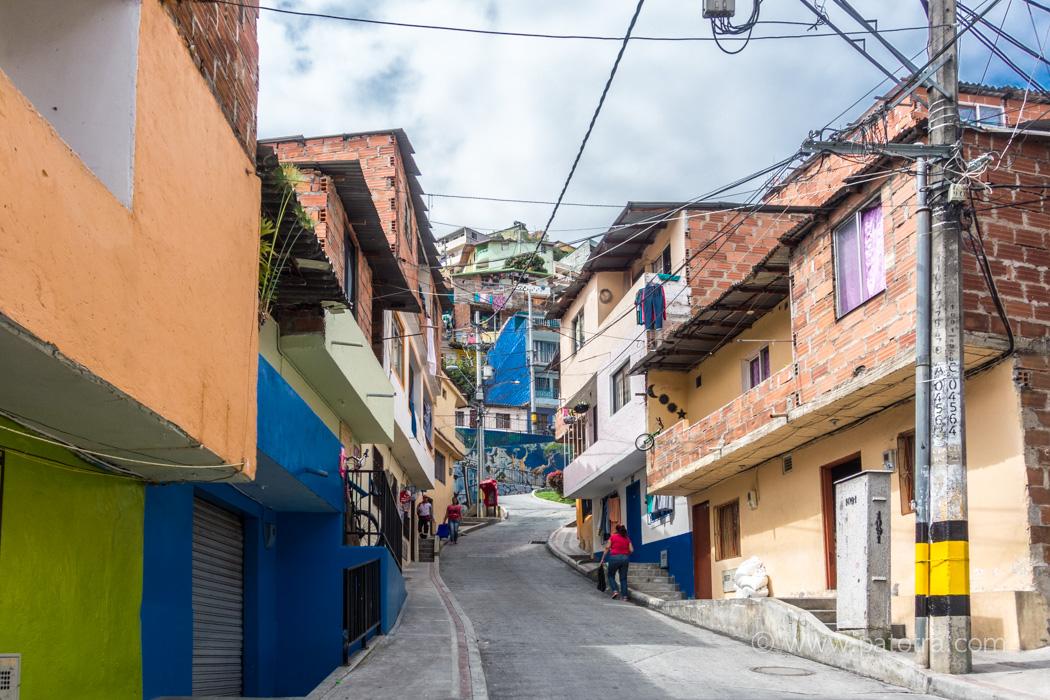 Medellin Comuna am Berg