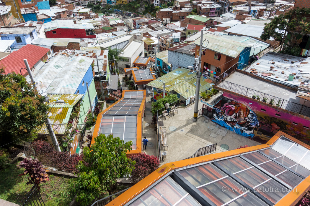 Rolltreppen Comuna Medellin