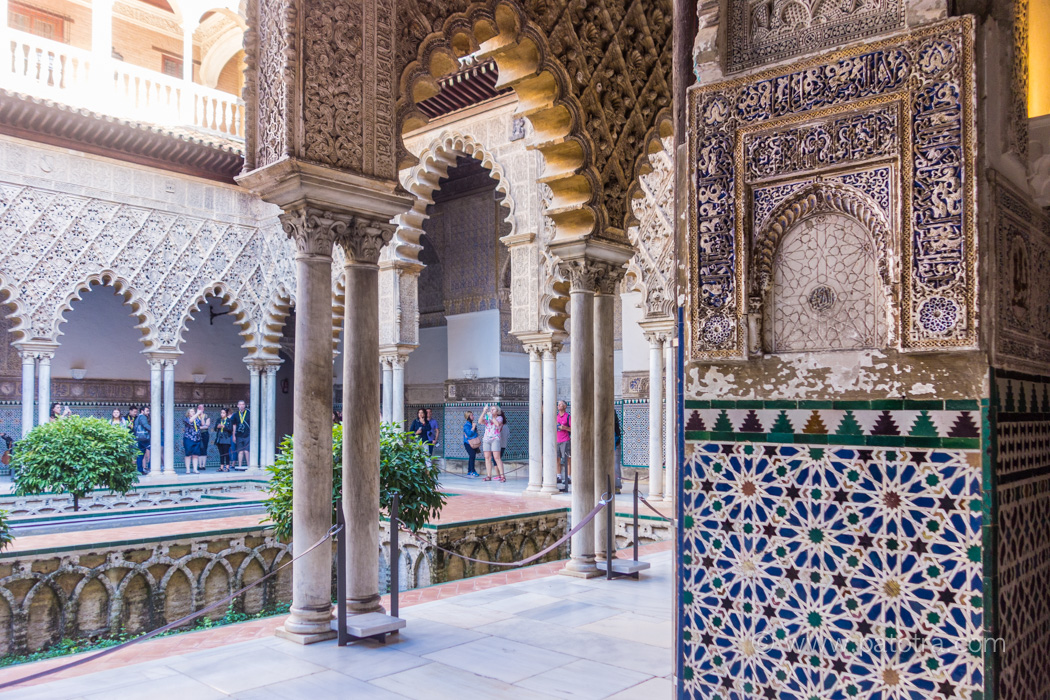 Palast Andalusien
