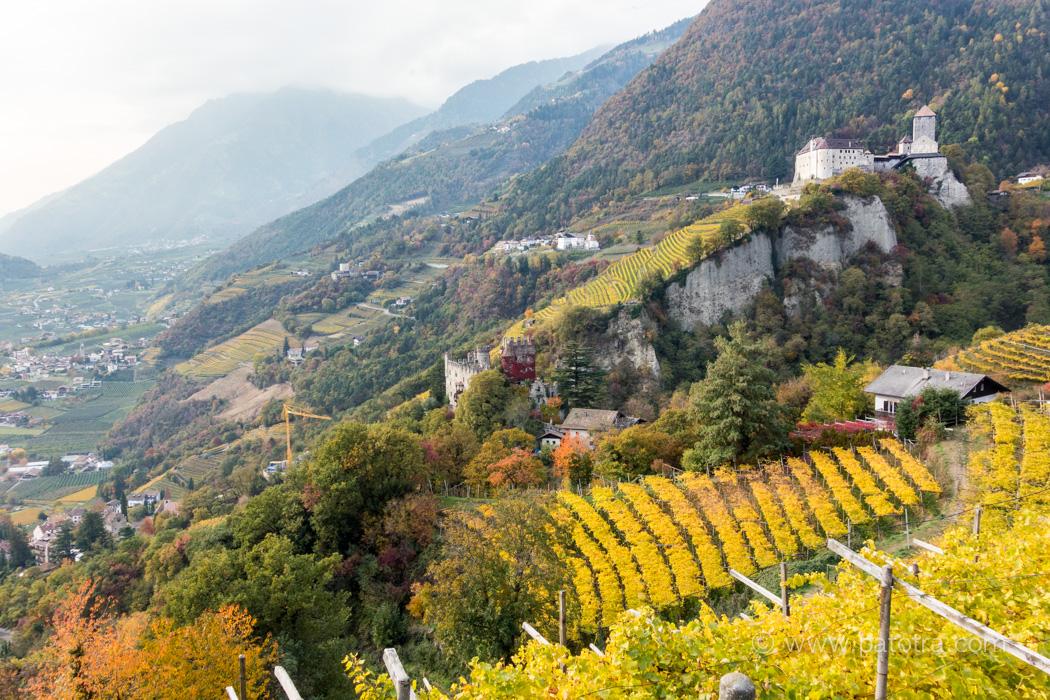Dorf Tirol Wanderweg