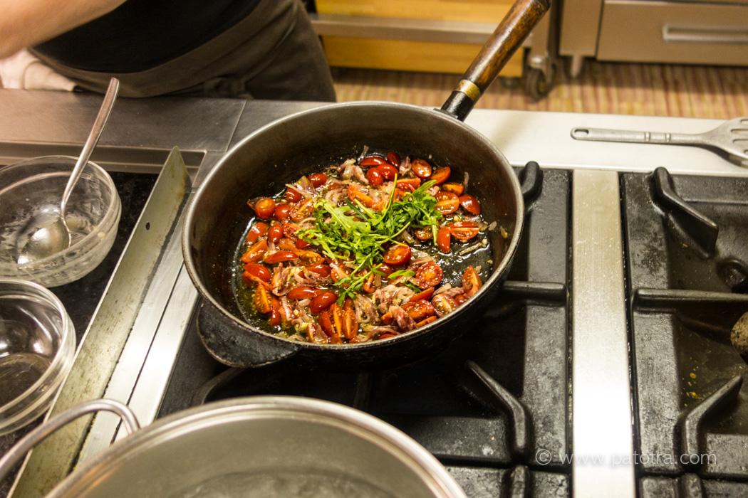 Sauce für Gnocchi
