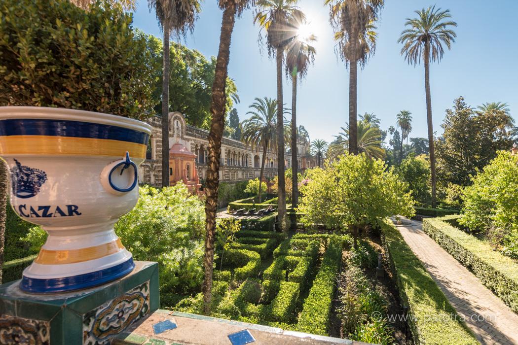 Sevilla Garten Palast