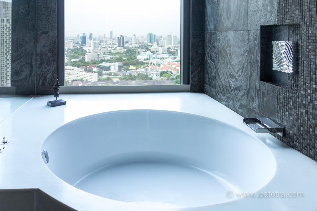 Hotel SO Sofitle Bangkok Badewanne