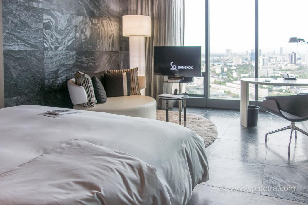 Hotel SO Sofitel Bangkok Blick