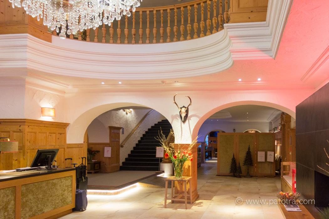Lobby Hotel Bachmair