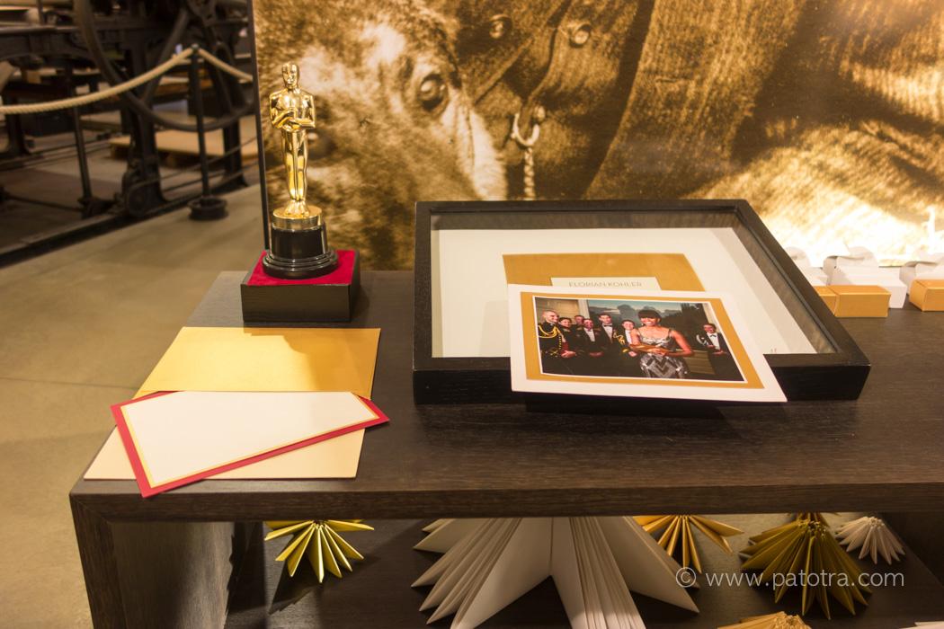 Umschlag Gold Oscar