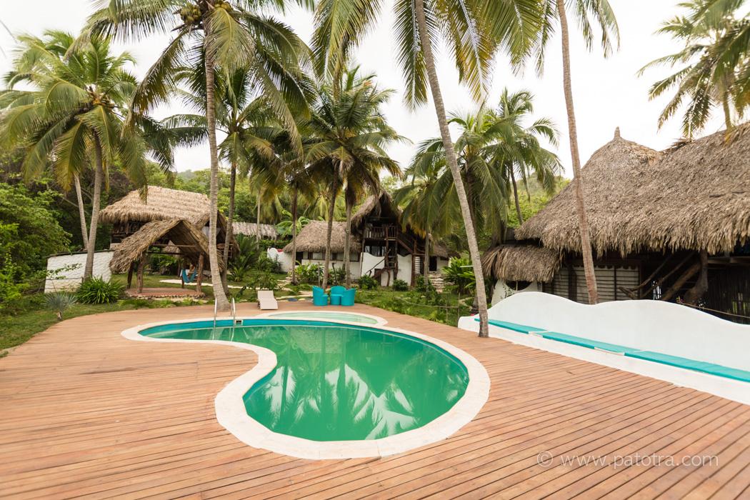 Playa la Roca Hotel Kolumbien