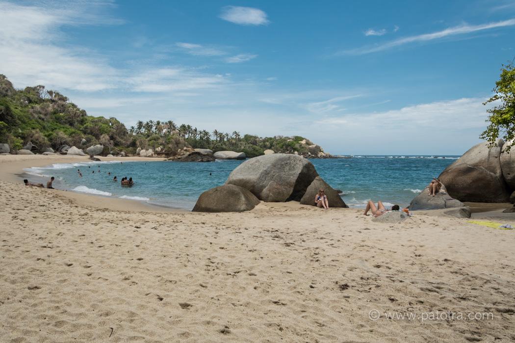Karibik Tayrona Kolumbien